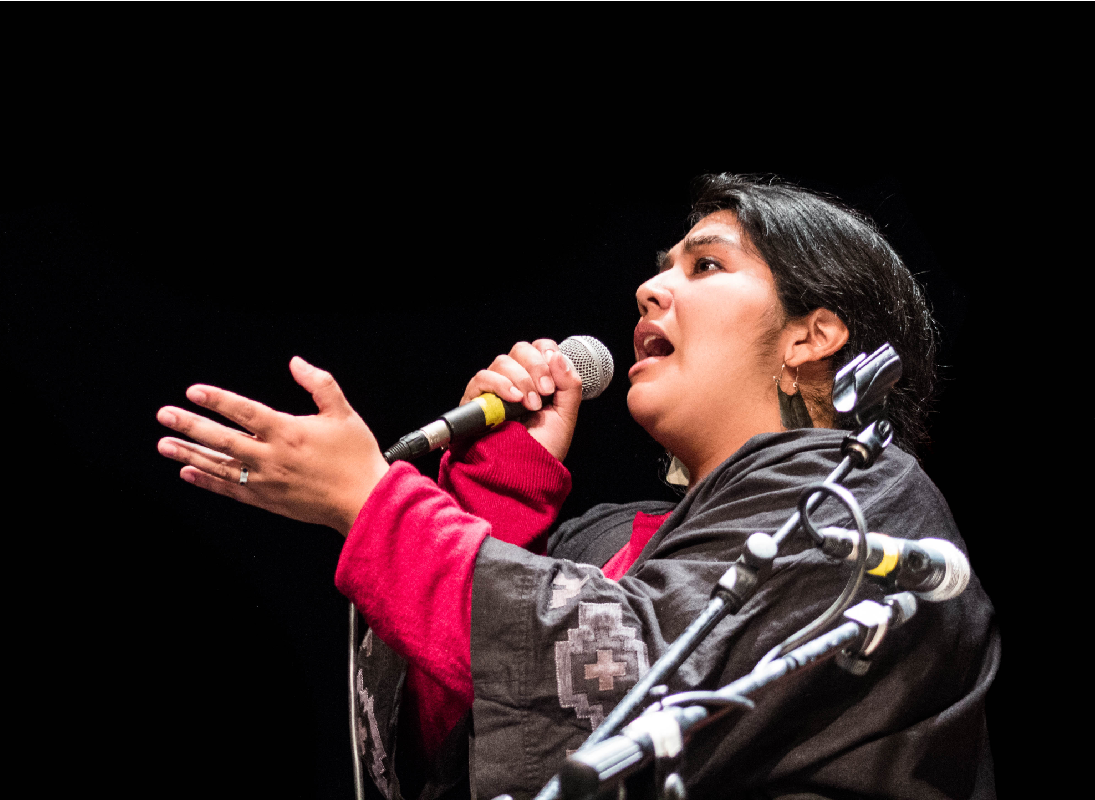 Daniela Millaleo en concierto