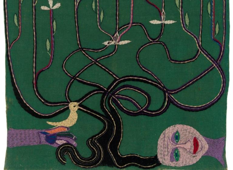 """Taller """"Arpilleras de Violeta"""": El árbol de la vida"""