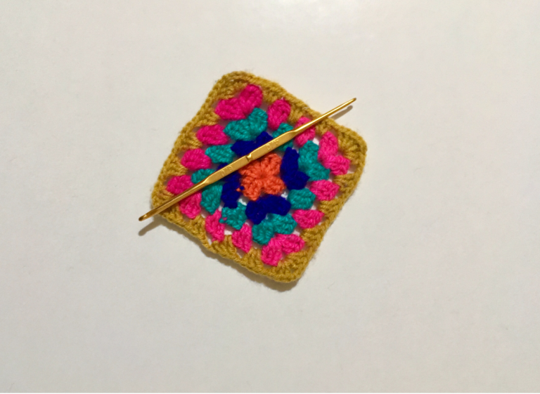 Taller de crochet cuadrado Granny