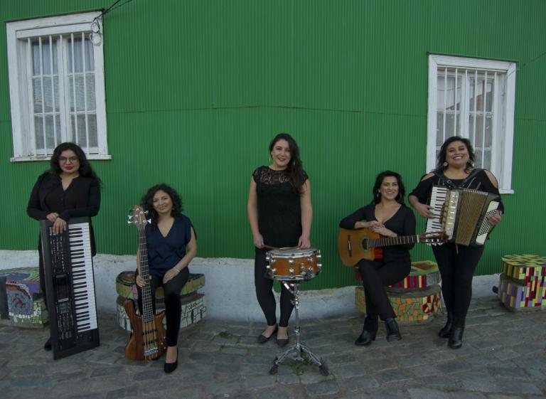Las Lulú de Pancho Gancho en concierto