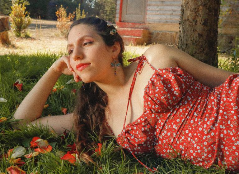 Delia Valdebenito en concierto