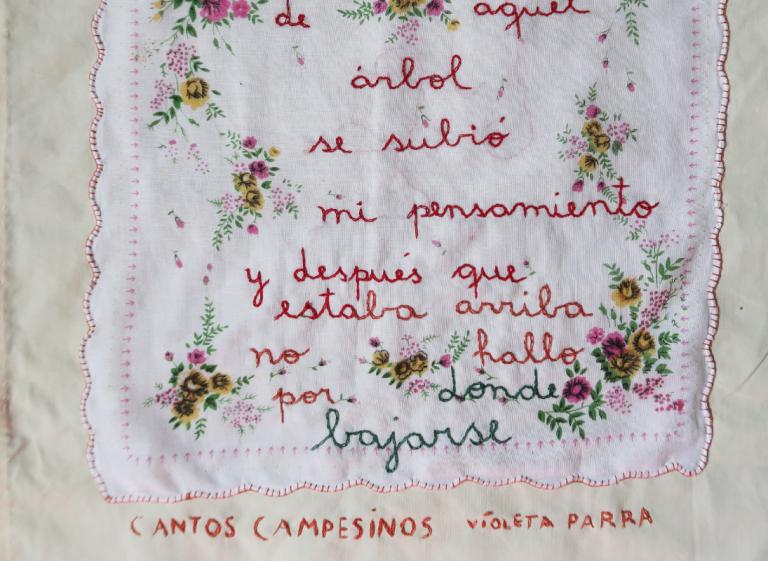 """Taller """"Canciones que se bordan"""" (Museo Verde)"""