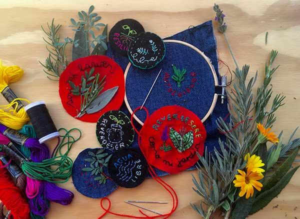 Taller de Amuleto Textil con Plantas (Museo Verde)