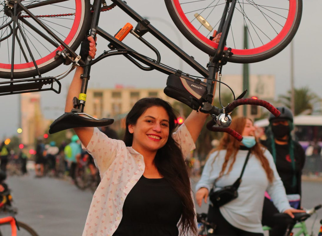"""#VioletaEnCasa presentó la conferencia de Daniela Suau: """"La bicicleta como herramienta transformadora de nuestras ciudades""""  (Museo Verde)"""