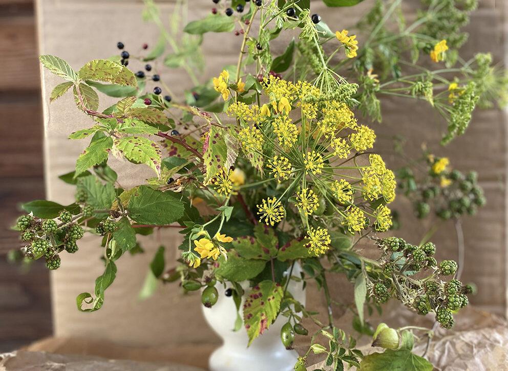 Taller de Arreglo de Flores Silvestres (Museo Verde)