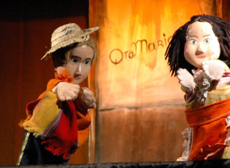 """""""María y Juancito"""" (Ciclo de Títeres)"""