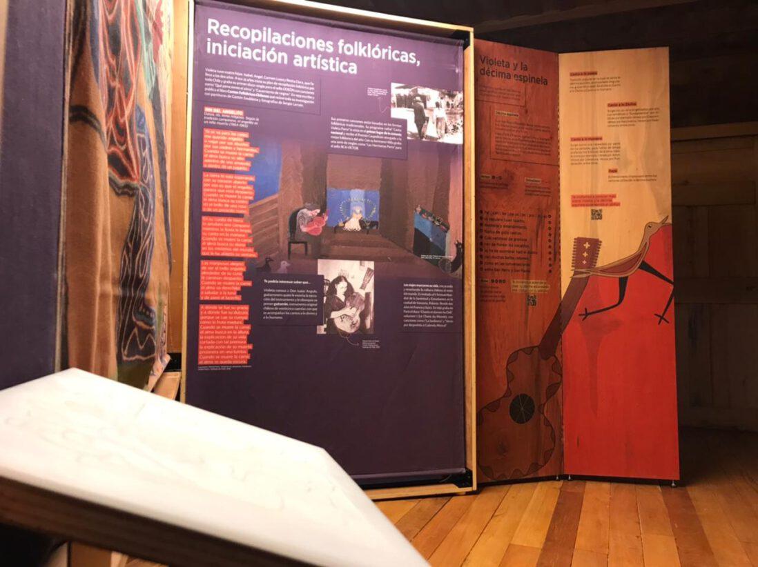 """Museo Regional de Aysén reabre sus puertas en Fase 2 con la muestra """"El Baúl de Violeta"""""""
