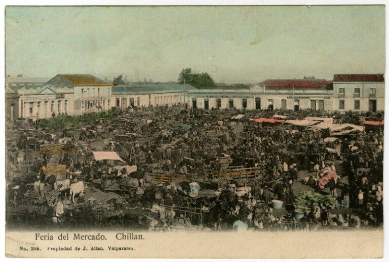 """Conferencia de Alejandro Witker: """"El Mercado de Chillán"""""""